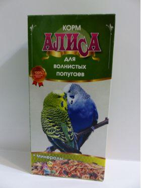 """Корм для волнистых попугаев """"Алиса"""", 450 г"""